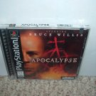 NEW Apocalypse *starring Bruce Willis* (Sony PS1) BRAND NEW Original Black Label Release FOR SALE