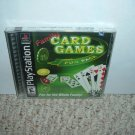 NEW Family Card Games Fun Pack (Sony PS1 10 games in 1) BRAND NEW SEALED game for sale