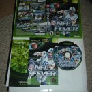 NFL Fever 2002 MINT & COMPLETE IN CASE (Microsoft XBOX football game FOR SALE)