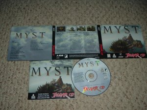 Myst (Atari Jaguar CD) NEAR MINT+ & COMPLETE IN CASE Game For Sale, save $$ with items shipped