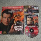 007 Tomorrow Never Dies (Sony Playstation PS1 james bond) + Prima's OFFICIAL Strategy Guide FOR SALE