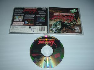 Shadow of the Beast (Turbo Duo super cd, grafx 16 CD) VE/NEAR MINT COMPLETE IN CASE, For Sale