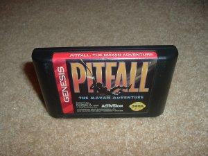 Pitfall: The Mayan Adventure (Sega Genesis, Sega Nomad) EXCELLENT Condition, FUN Game For Sale