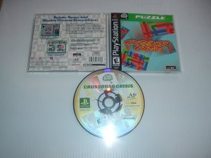 Crossroad Crisis (PS1) MINT/NEW condition & COMPLETE, great puzzle fun game For Sale
