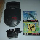 Atari Jaguar CD System VERY XLNT+ condition w/ Power Supply & 2 COMPLETE IN CASE games FOR SALE