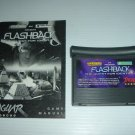 Flashback: The Quest For Identity (Atari Jaguar) NR MINT/XLNT Game with Instruction Manual FOR SALE