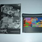 Flip Out! (Atari Jaguar) EXCELLENT GAME with MANUAL, best puzzle game on Jaguar FOR SALE