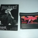 Raiden (Atari Jaguar) VERY EXCELLENT Game with Instruction Manual Booklet + BONUS CODES, FOR SALE