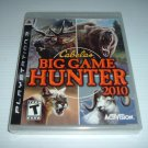 NEW Cabela&#39;s Big Game Hunter 2010 (PS3) BRAND NEW FACTORY SEALED, great hunting game FOR SALE