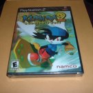 BRAND NEW Klonoa 2: Lunatea's Veil (Sony PS2, Playstation 2) FACTORY SEALED ULTRA-RARE game for sale