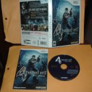 Resident Evil 4 Wii Edition NEAR MINT & COMPLETE (Nintendo Wii) great video game For Sale