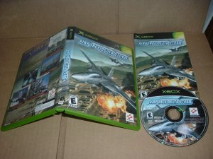 Air Force Delta Storm (XBOX) NEAR MINT & COMPLETE IN CASE, microsoft airforce game FOR SALE