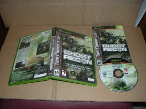 Ghost Recon (XBOX) COMPLETE IN CASE, the very first/original Ghost Recon game made, FOR SALE