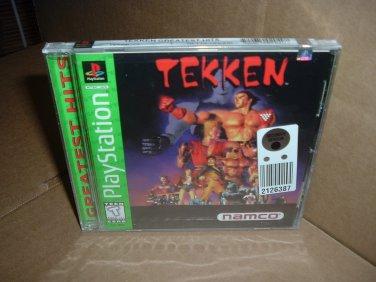 Tekken (PS1) BRAND NEW FACTORY SEALED, the game that started Tekken Franchise VERY RARE for sale