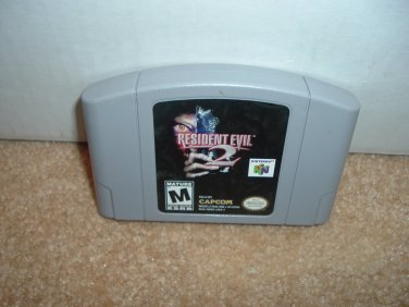 Resident Evil 2 VERY EXCELLENT condition (Nintendo 64, N64 video game) Survival Horror FOR SALE