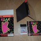 Klax NEAR MINT+ & COMPLETE IN BIG BOX (TurboGrafx 16, turbo grafx) addictive puzzler FOR SALE