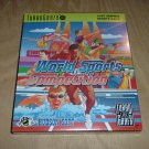 World Sports Competition UNCIRCULATED BRAND NEW SEALED (TurboGrafx 16, Turbo Grafx) RARE for sale
