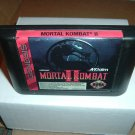 Mortal Kombat II 2, VERY EXCELLENT & GLOSSY (Sega Genesis) game for sale, SAVE $$ combining