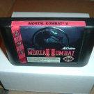 Mortal Kombat II 2, VERY EXCELLENT & GLOSSY (Sega Genesis) game for sale, SAVE $$ combining