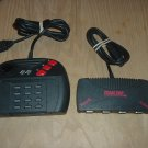 Atari Jaguar System CONTROLLER & TEAM-TAP multiplayer adaptor (NEAR MINT multi-tap), For Sale