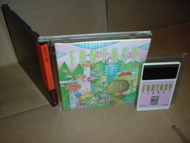 Fantasy Zone VERY EXCELLENT & COMPLETE IN CASE (turbo grafx 16 turbografx) SHMUP shooter for sale