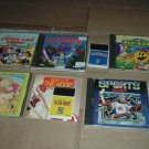 TurboGrafx 16 Lot #12: 8 GAMES Pac-Land, Sonic Sp, Moto Roader & MORE, Turbo Grafx Game lot For Sale