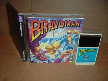 Bravoman NEAR MINT & COMPLETE IN CASE (Turbo Grafx 16, Duo, turbografx) Game For Sale