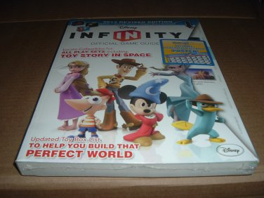 NEW SEALED Disney INFINITY Official Game Strategy Guide 2014 Revised Edition Wii U 360 PS3 for sale