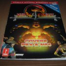 Mortal Kombat 4 Official Strategy Guide Book for PS1 Sony Playstation or Nintendo N64 game, for sale