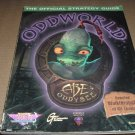 Oddworld: Abe's Oddysee (PS1 or PC) Official Strategy Guide Book for Sony Playstation game, for sale