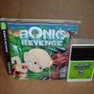 Bonk's Revenge GLOSSY & NEAR MINT+ & COMPLETE IN CASE (Turbo Grafx 16 Duo turbografx) FOR SALE