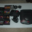 Atari Jaguar SYSTEM WORKS GREAT with 7 GAMES (some of the best), power supply & Controller, bundle