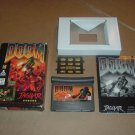 Doom (Atari Jaguar) NEAR MINT- & COMPLETE IN BOX Game +manual & controller overlay +BONUS, FOR SALE