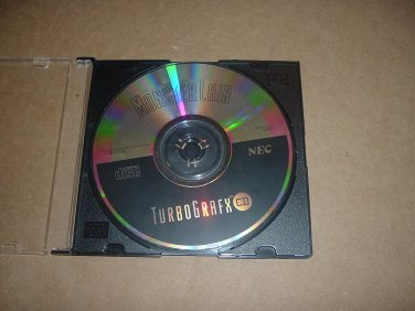 Monster Lair for TurboGrafx 16 CD system (Wonder Boy III 3) great game for sale