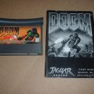 Doom (Atari Jaguar) GAME WITH MANUAL and BONUS CODES, great first person shooter for sale