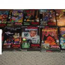 9 Atari Jaguar Games COMPLETE IN BOX, video games for a RARE console system, bundle for sale