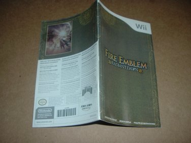 Fire Emblem: Radiant Dawn (Nintendo Wii) VERY XLNT Manual/Booklet ONLY for Tactics RPG, for sale