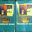 (2) TWO 90-91 SKYBOX NBA Series II Basketball Cards 36 Packs!