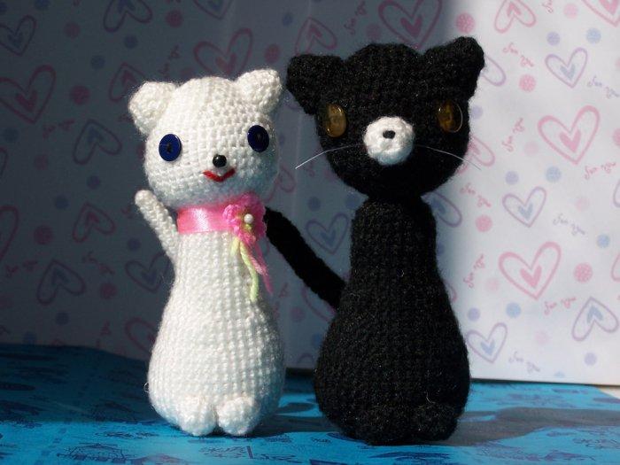 Amigurumi kitties