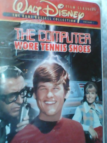 The Computer Wore Tennis Shoes VHS