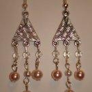 Item # MD0007 Triangle Chandelier Earrings
