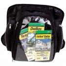 LUMTANK: Diamond Plate Rock Design Genuine Leather Motorcycle Tank Bag