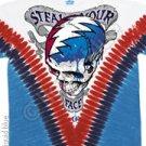 Grateful Dead Steal Your Face V-Dye M - XL Tye Tie Shirt NEW