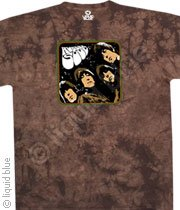 The Beatles - Rubber Soul Album - Tye Dye M - XL Shirt