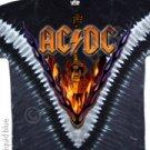 AC/DC - Hells Bells vdye - Tye Dye XXL Shirt
