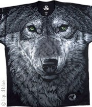Artic Wolf - double sided -  XXL Shirt