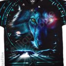 Tribal Wolf - double sided - L - XL Shirt