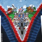 'NEW DESIGN'   Moto Sam   Grateful Dead Tye Dye XXL Shirt