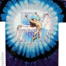 'NEW DESIGN' LED ZEPPELIN SWAN SONG Tye Dye M - XL Shirt