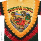 'NEW DESIGN'  Positive Vibrations  Grateful Dead Tye Dye M - XL Shirt